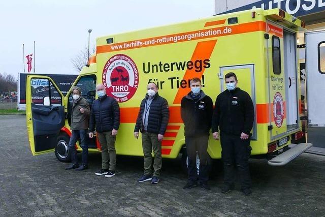 Kippenheimer Werkstätte spendiert dem Tierhilfsverein Neuried die Reparatur des Autos