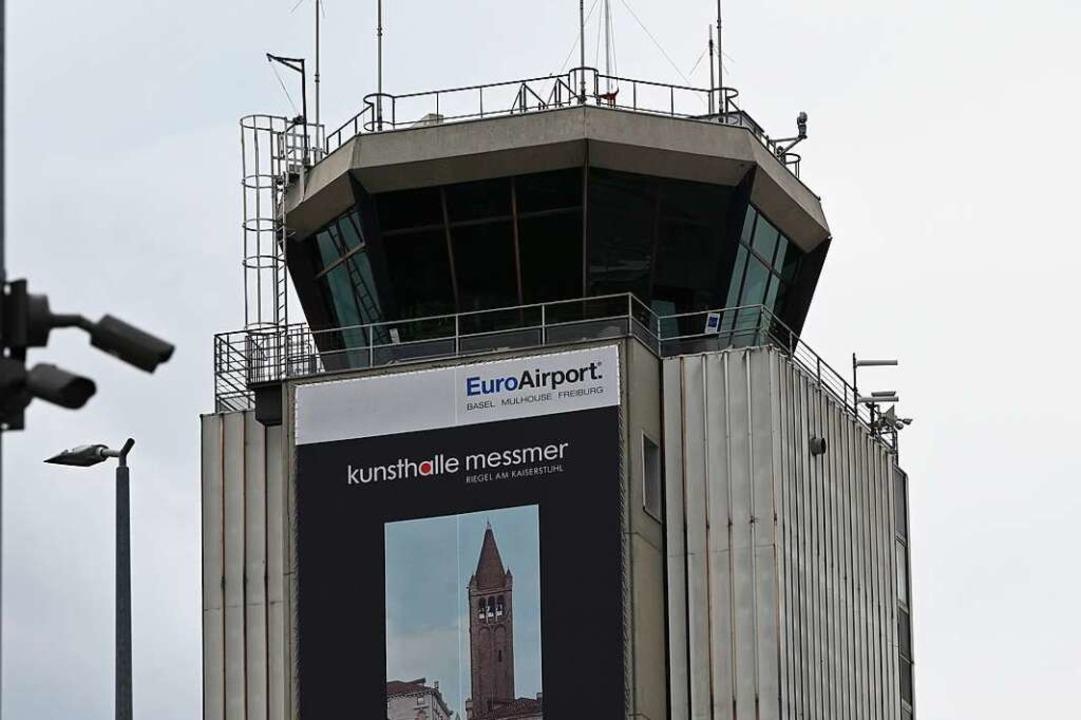 Der Tower des Euroairports    Foto: Jonas Hirt