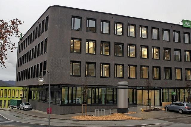 Die AOK bezieht ein neues Gebäude