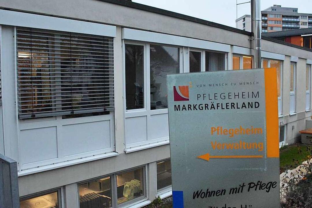 Das Pflegeheim Markgräflerland  | Foto: Hannes Lauber