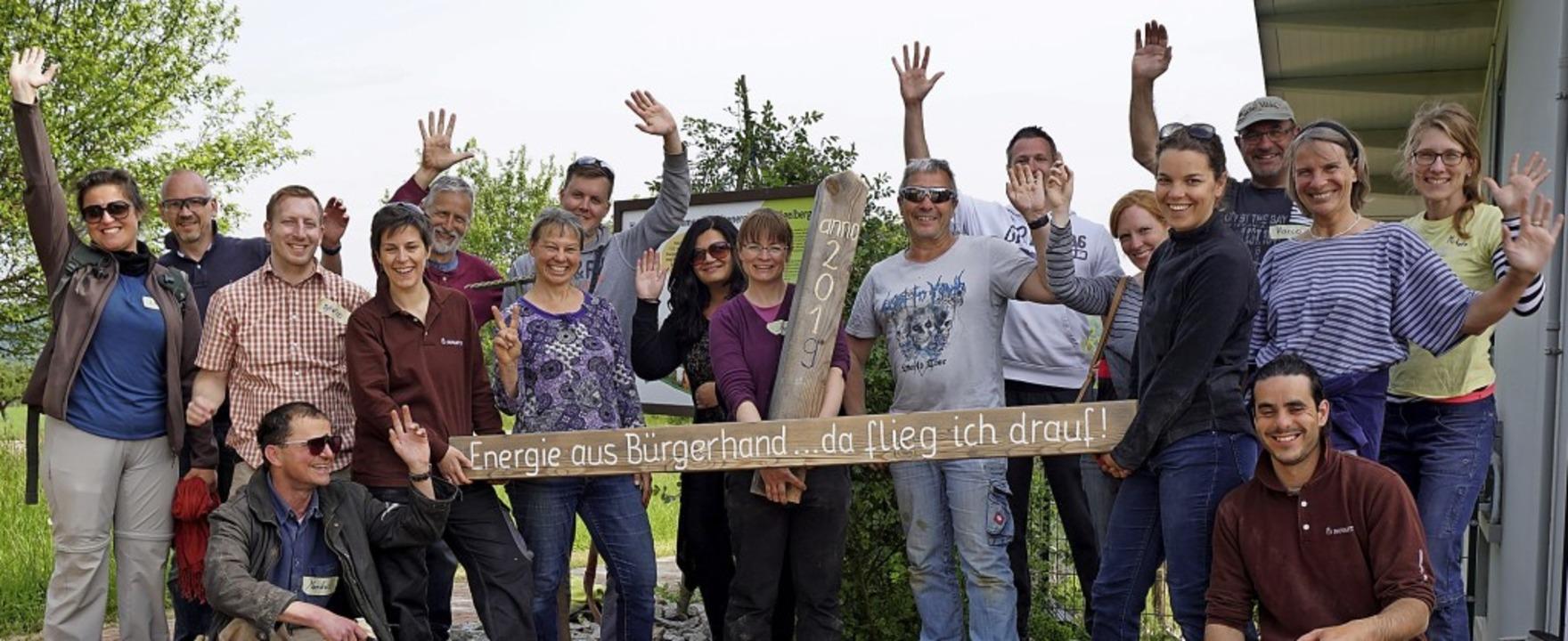 Im Mai 2019 konnte die Genossenschaft ... ohne Masken und Abstand organisieren.    Foto: Privat
