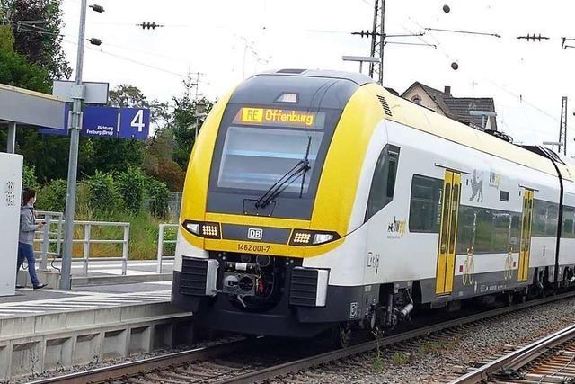 In Offenburgs Süden sollen in der Zukunft Züge halten
