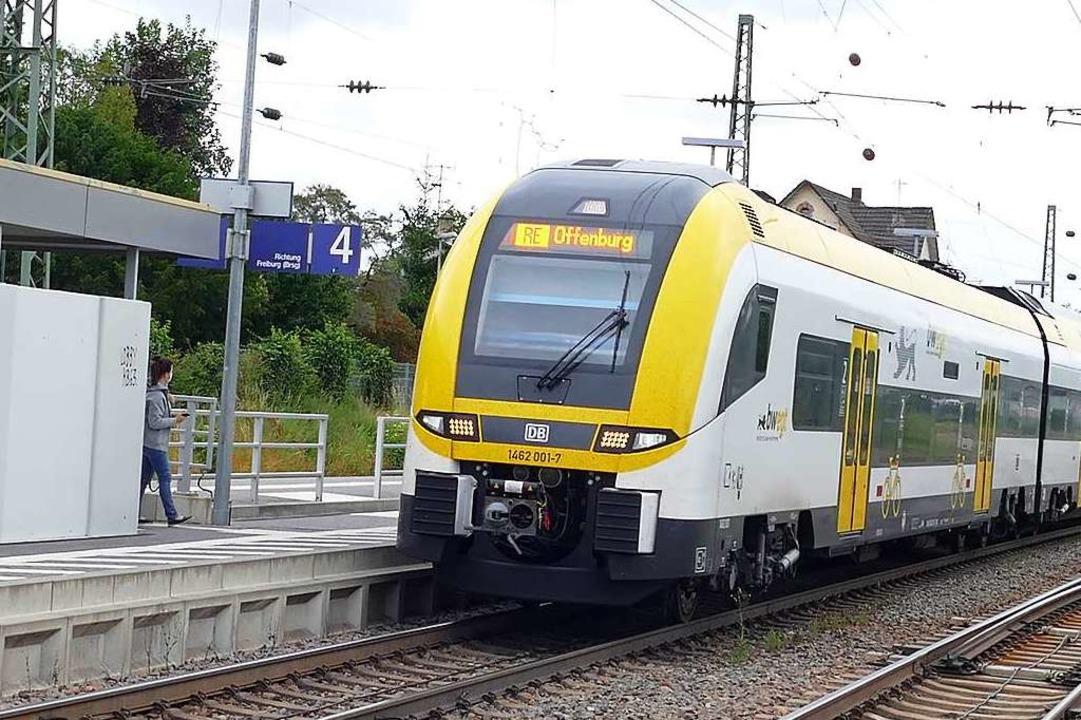 Wann genau die Rheintalbahn im Offenbu...es wird jedoch noch eine Weile dauern.    Foto: Victoria Langelott
