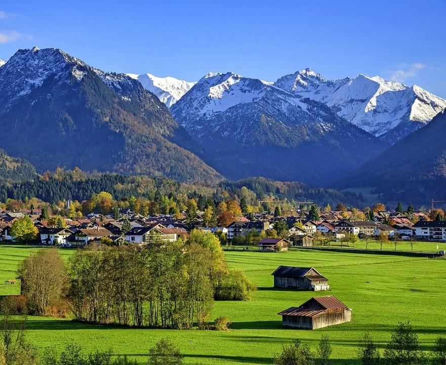 Von Oberstdorf zu erreichen: der südlichste Zipfel Deutschlands  | Foto: Alexander Rochau stock.adobe.com