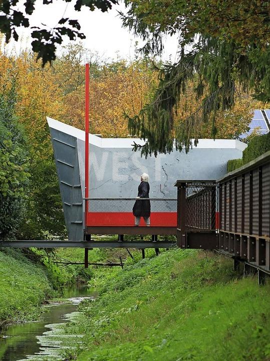 Brücke gen Westen: Selfkant  | Foto: Bernd F. Meier (dpa)