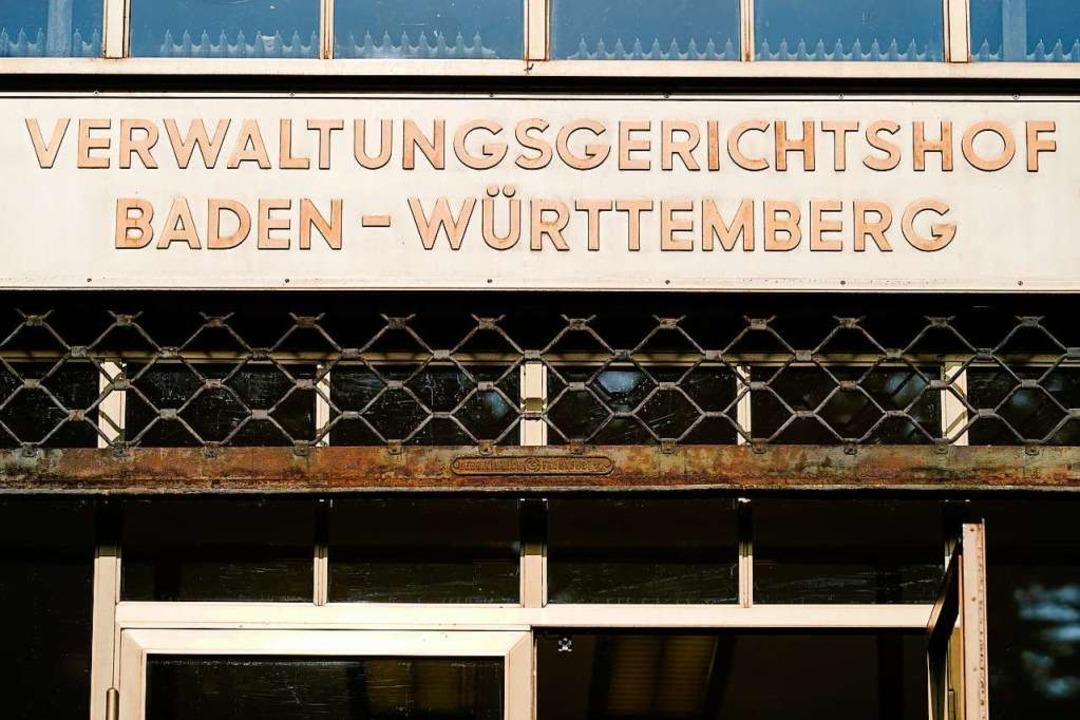Der Verwaltungsgerichtshof in Mannheim ächzt unter einer hohen Belastung.    | Foto: Uwe Anspach (dpa)