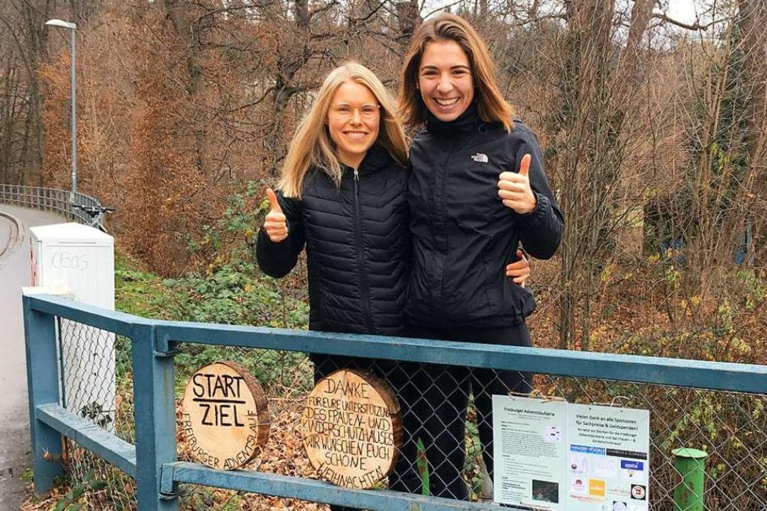 Die Arbeit hat sich gelohnt: Annika Au...regionalen Sponsoren im Raum Freiburg.  | Foto: privat