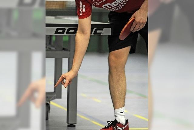 Tischtennis peilt Start im März an