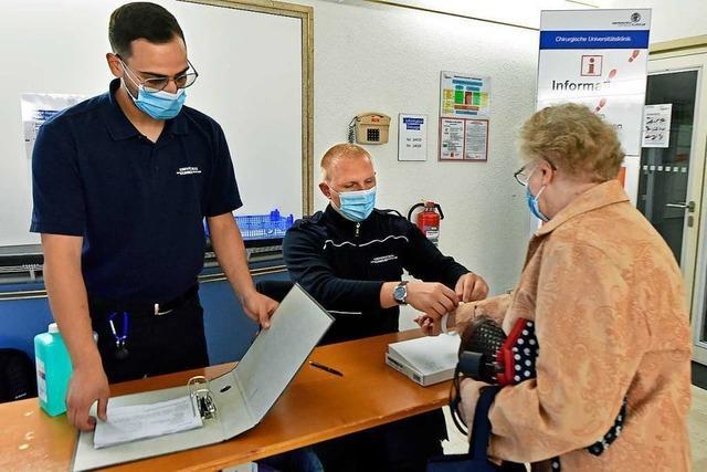 Ambulanztermine an der Freiburger Uniklinik werden gehalten