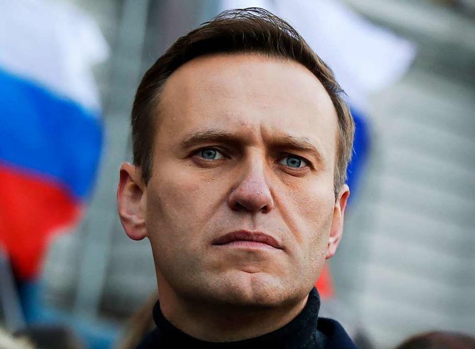 Alexej Nawalny.  | Foto: Pavel Golovkin (dpa)