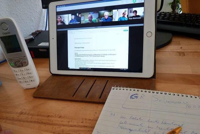 Nach kontroverser Debatte: Gemeinderat Schönau erlaubt Videositzungen