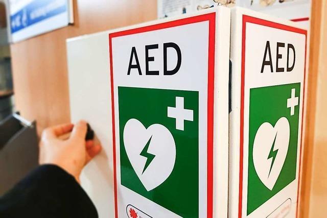 Herbolzheim wird mit Laien-Defibrillatoren ausgestattet