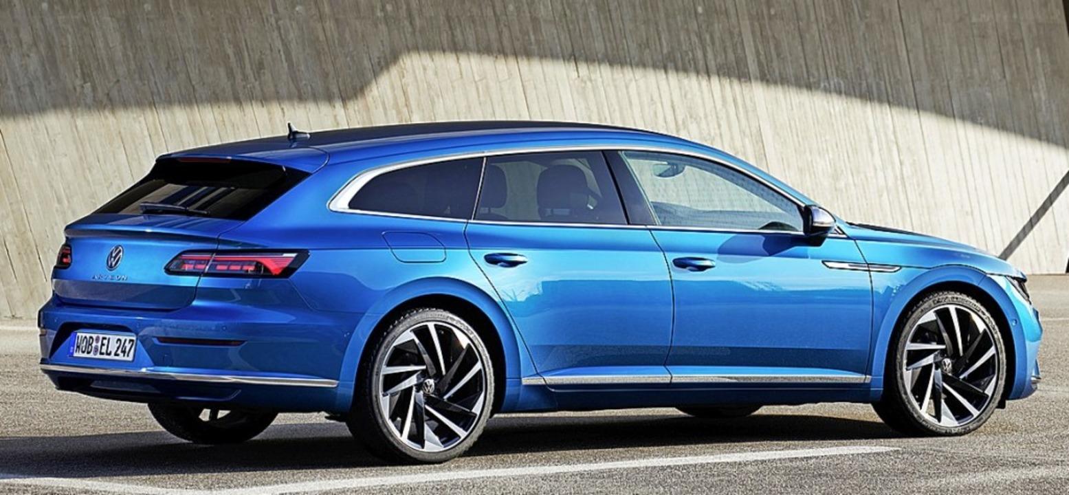 Neben die Limousine stellt VW den Shooting Brake.  | Foto: Werk
