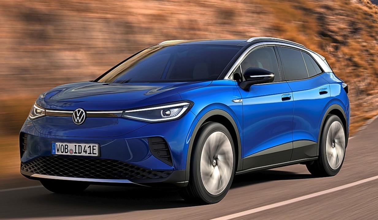 Kompakte SUVs sind eine beliebte Fahrz... VW auch mit vollelektrischem Antrieb.  | Foto: Werk