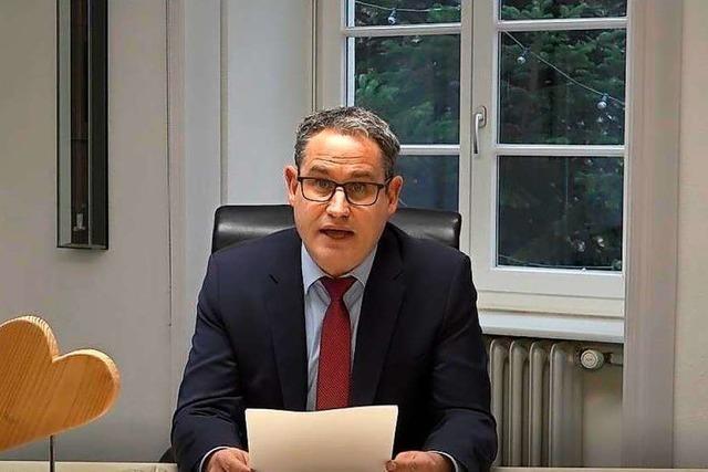 Video: Ansprache von Schopfheims Bürgermeister Dirk Harscher