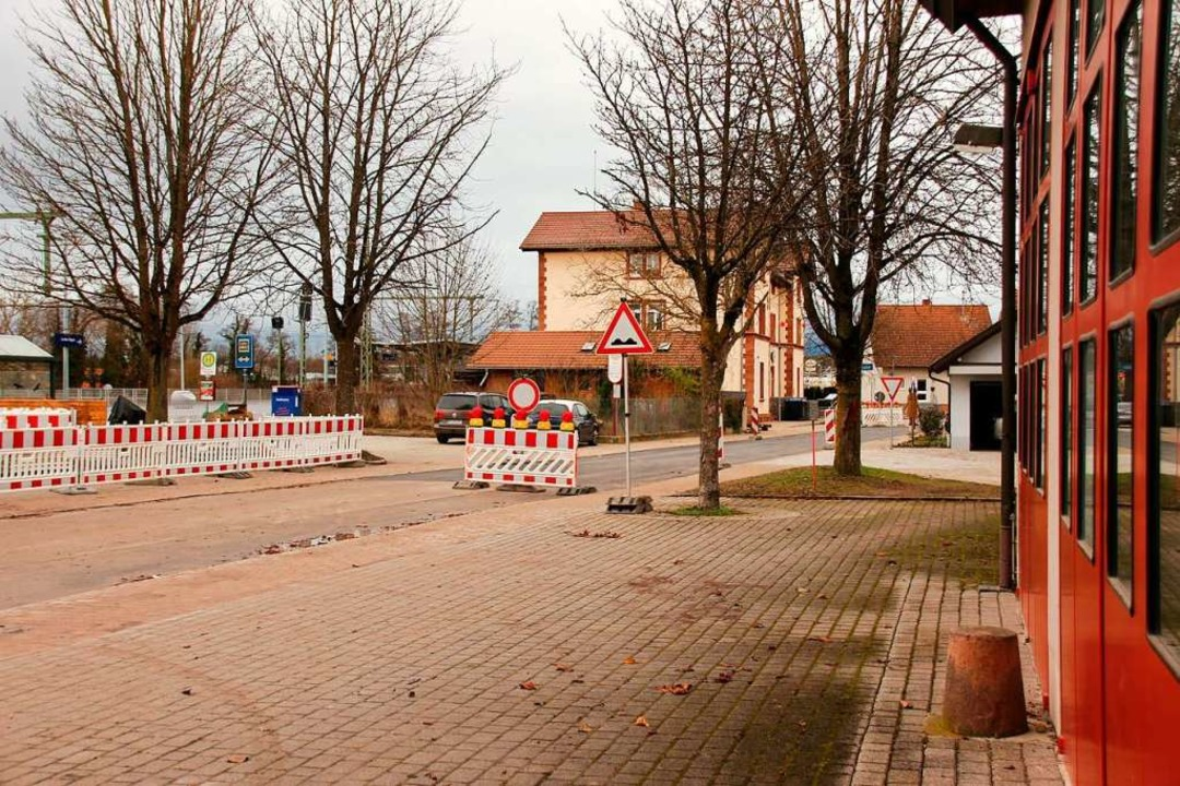 Die Bahnhofstraße in Gottenheim ist se...tergehen und die Gemeinde Geld kosten.  | Foto: Mario Schöneberg