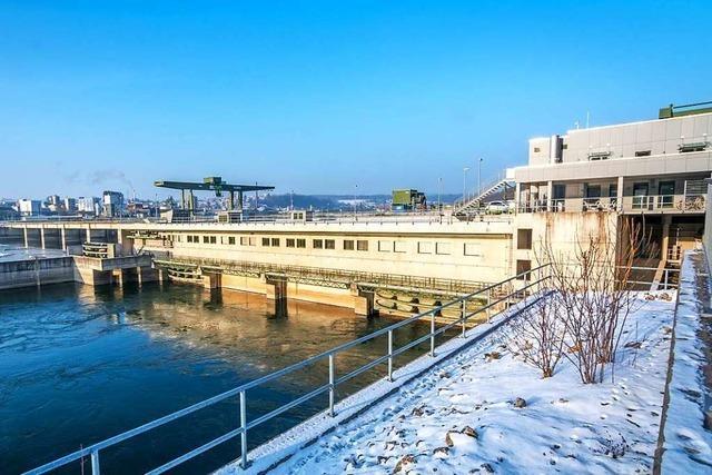 Das Rheinfelder Wasserkraftwerk liefert seit zehn Jahren Ökostrom