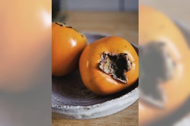 Götterfrüchte in Orange