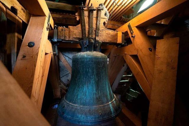 Die 1491 gegossene Glocke Tuba Dei läutet wieder im Münster
