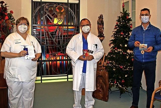 Kleine Freude für Patienten im Loreto-Krankenhaus