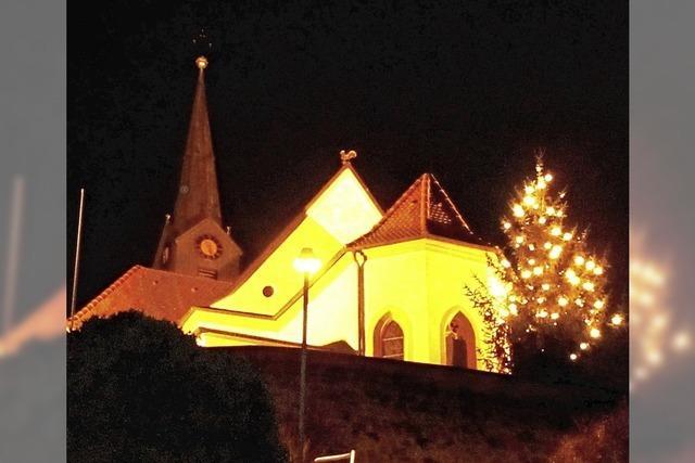 Ein Lichtblick zum Weihnachtsfest