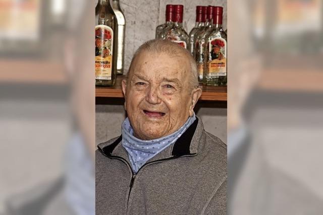 Ein Urgestein aus Maleck wird 90 Jahre alt