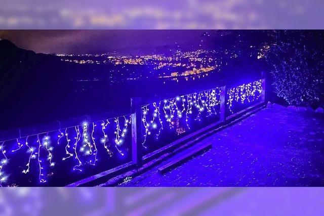 Weihnachtsfunkeln über Waldshut