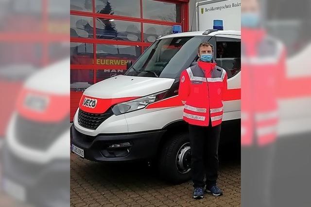 Rotes Kreuz bekommt neues Fahrzeug