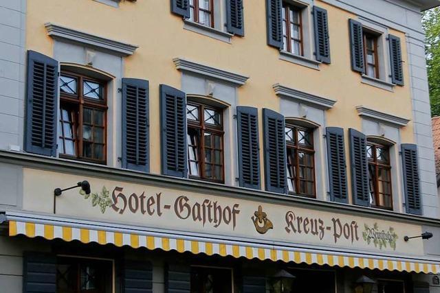 Restaurant Kreuz-Post in Staufen schließt – Pächter gehen neue Wege