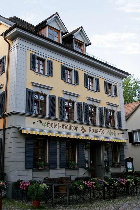Die Kreuz-Post zählt zu den bekanntest...ssen in Staufen (hier ein Archivbild).  | Foto: Patrik Müller
