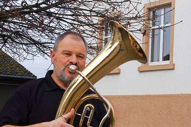 In Adelhausen wird der Musikverein an Heiligabend übers Dorf verteilt spielen