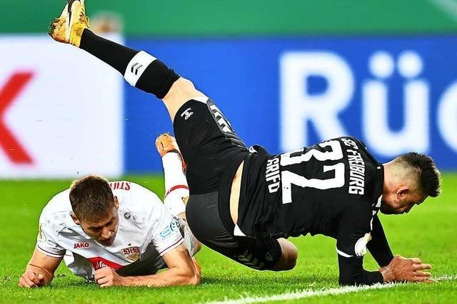 Fotos: Stuttgart ist im Pokal die Endstation für den SC Freiburg