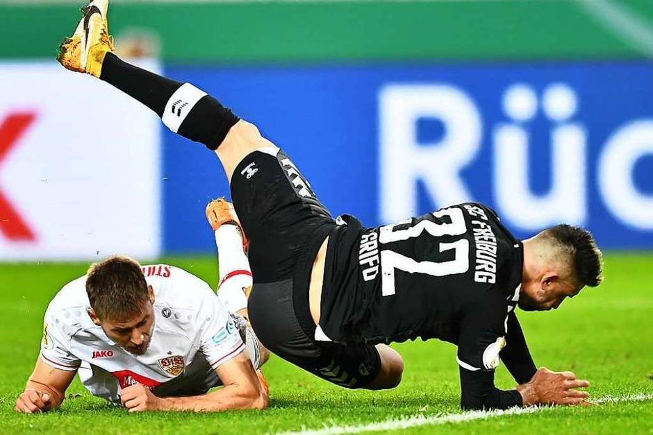 Umkämpft und von Taktik geprägt: Der VfB Stuttgart schlägt den SC Freiburg mit 1:0. (Foto: SC Freiburg/Achim Keller)