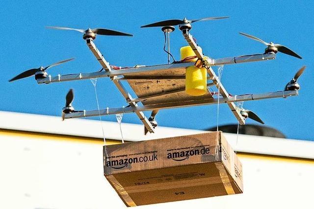 Auch in Freiburg-Vauban ist Amazon das neue Christkind