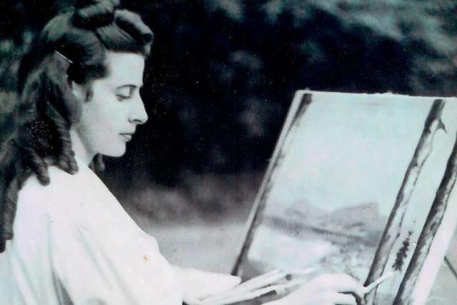 Der Rhein diente der Künstlerin Irene Gihr als Quelle der Inspiration