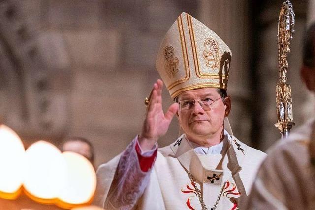 Freiburger Bischof Burger: Weihnachts-Hoffnung und Anteilnahme für Leidende