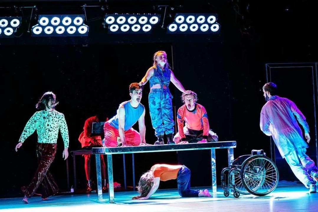 Eine Szene aus dem Stück  | Foto: Simon Wachter (frei)