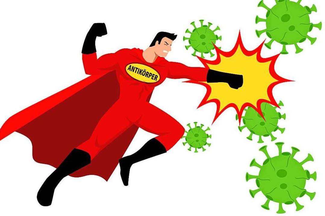Der Körper wehrt sich mittels  Antikör... aber auch mit Hilfe seiner T-Zellen.     Foto: rudall30 (stock.adobe.com)