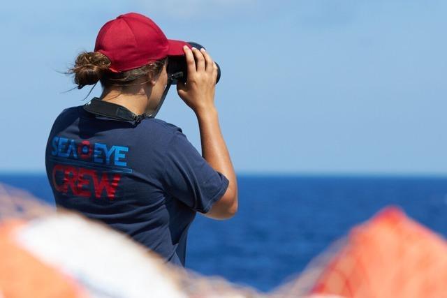 Freiburger Gruppe von Sea-Eye sammelt Spenden für die Seenotrettung