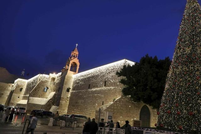 Schutzanzüge und Schutzengel: So war das Corona-Weihnachten in Bethlehem