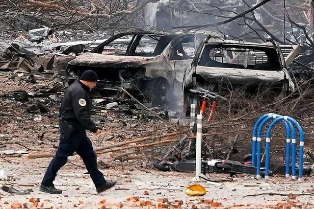 Heftige Explosion mit Vorwarnung: FBI ermittelt nach Tat in Nashville
