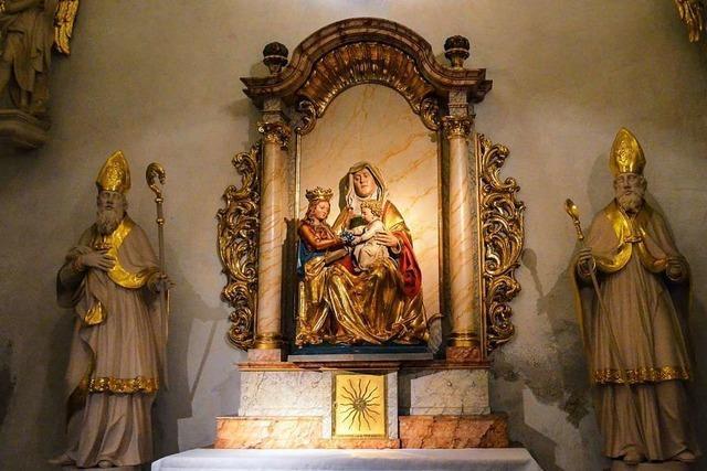 In der Staufener Martinskirche wird die Großmutter Jesu verehrt