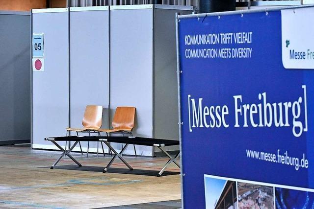 Freiburger Impfzentrum erhält zum Start 1000 Impfdosen