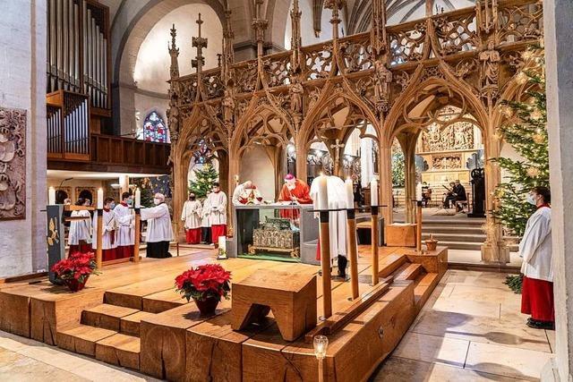 Katholische und evangelische Pfarrgemeinden feierten Weihnachten kreativ und mit Abstand