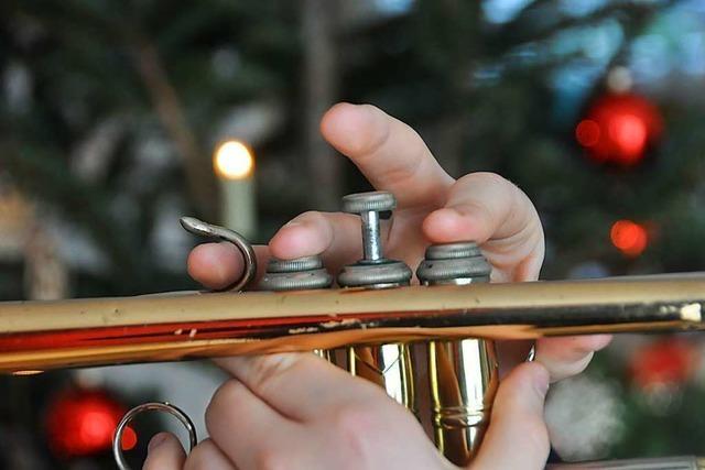 Die Stadtmusik Lörrach bringt an Heiligabend Musik zu den Menschen