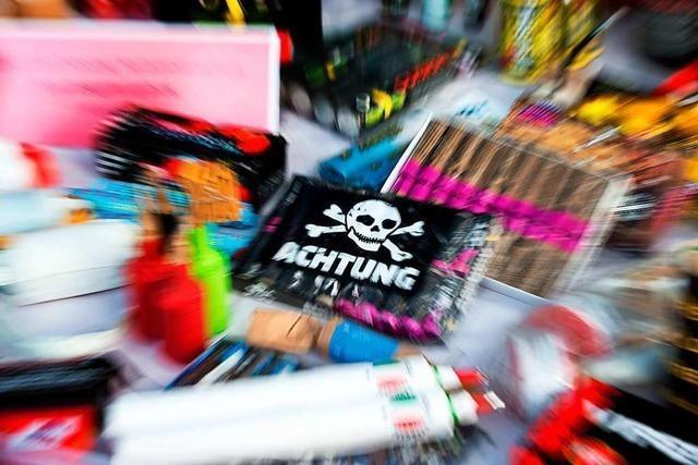 Das Hauptzollamt Lörrach warnt vor illegalem Feuerwerk