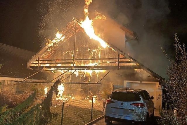 Vier Brände im Aargau