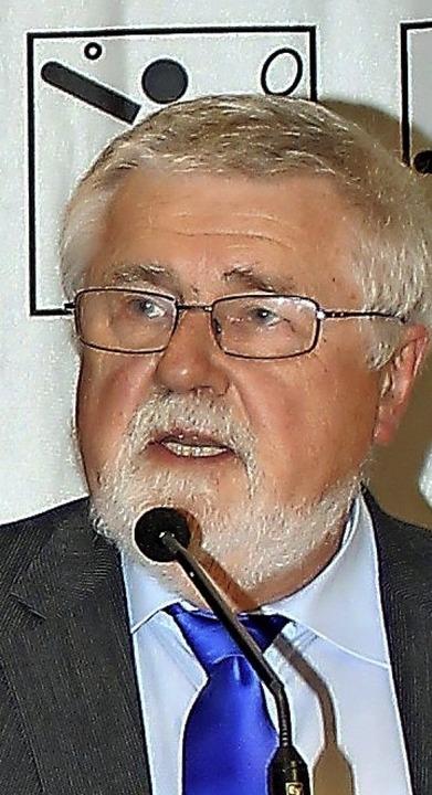Oberster Vorturner: BTB-Präsident Gerhard Mengesdorf  | Foto: Dagobert Maier