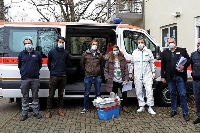 Erste Impfung in Müllheim