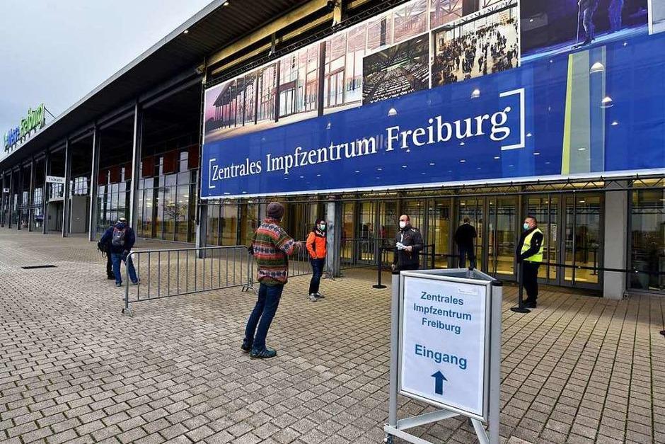 Zentrales Impfzentrum Freiburg (Foto: Thomas Kunz)